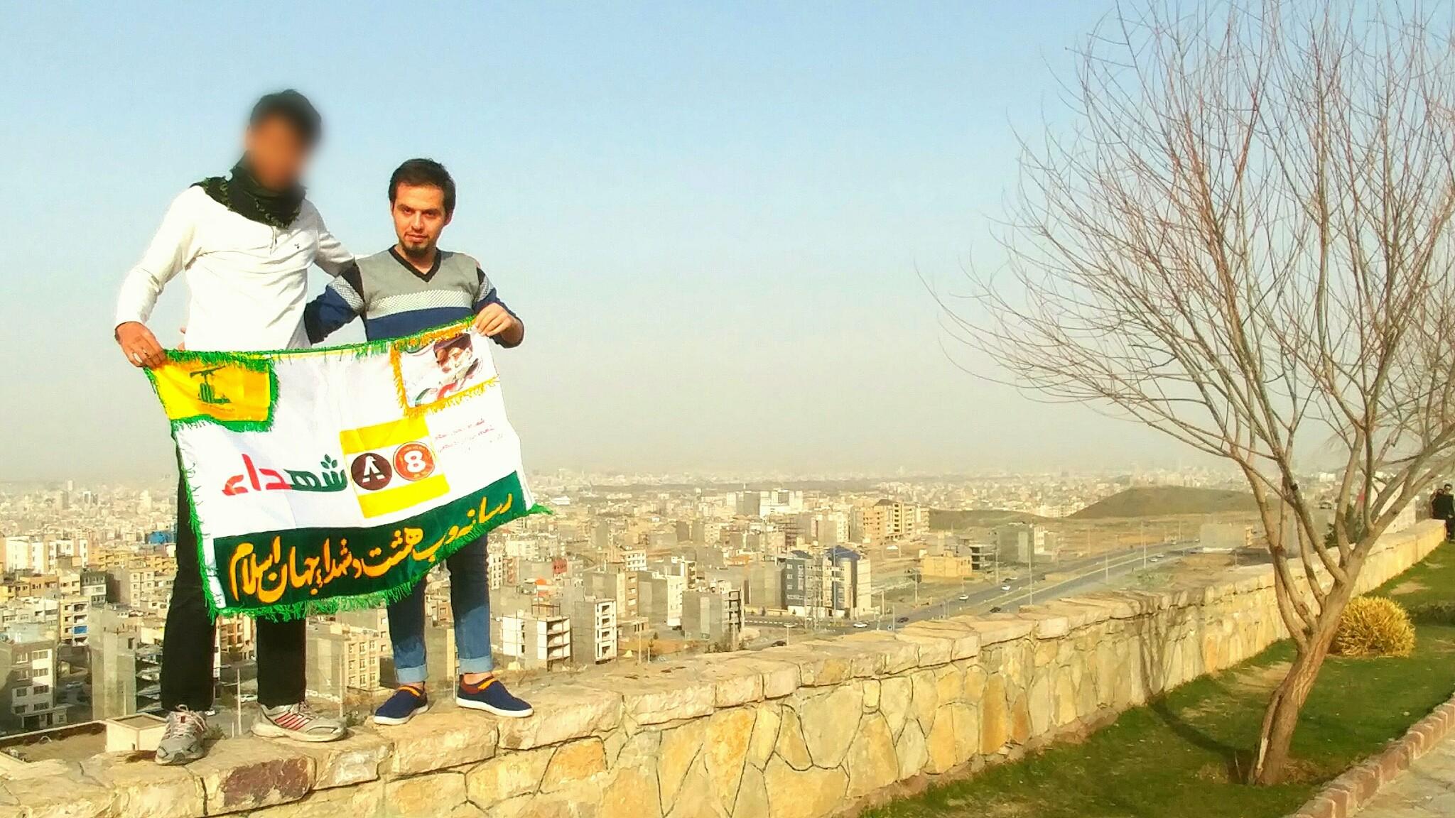 تصویر از برادر شهید مروان برجی