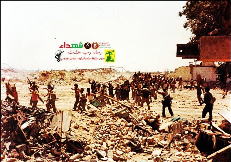 تصویر از صدام، جارو برقیه