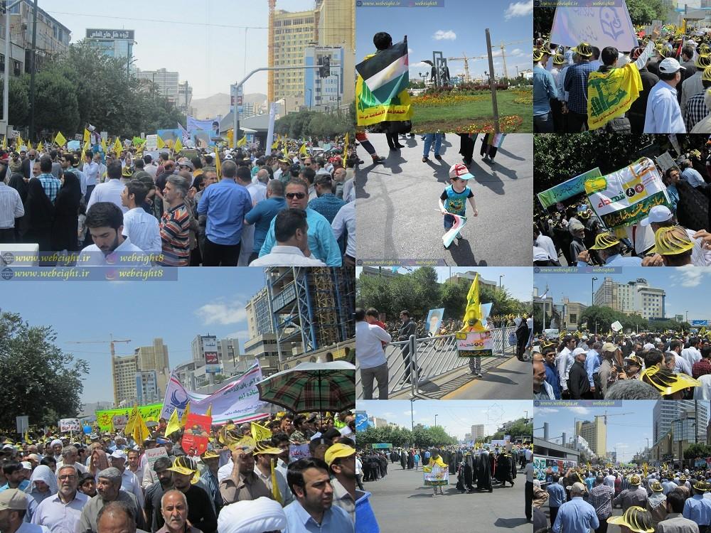 تصویر از تصاویر / راهپیمایی روز جهانی قدس مشهد ۹۶