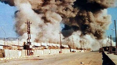 تصویر از شهادت به وقت استنشاق گاز خردل