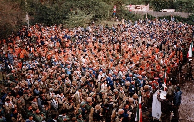 تصویر از تربیت ۶۰۰ رزمنده برای اسلام