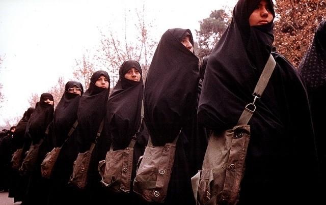 تصویر از سلاح اصلی من، حجابم بود