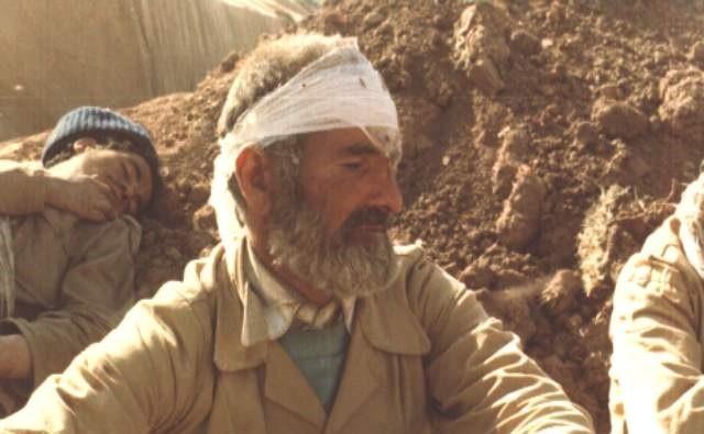 تصویر از زخمهای جنگ همچنان باقی است