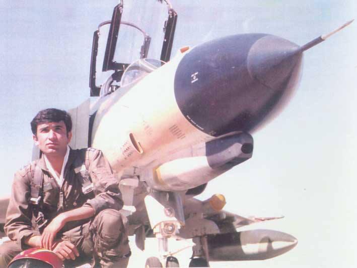 تصویر از نامه عاشقانه یک خلبان به همسرش