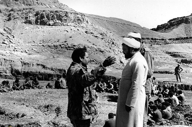 تصویر از آشتی به سبک رزمندگان