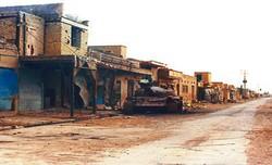 تصویر از شهری که ۳ بار محاصره شد